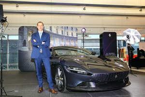 フェラーリの最新GT「ローマ」日本上陸! V8ツインターボ搭載の新たなるFRスポーツ
