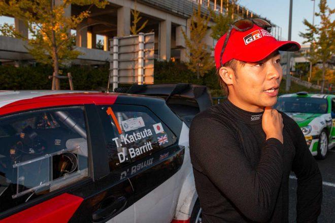セントラル・ラリー愛知・岐阜走行初日、ヤリスWRC操る勝田は「日本特有の道」走る難しさ痛感