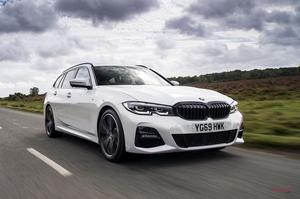6気筒ディーゼル搭載 G20型 BMW 3シリーズツーリング330d xドライブに試乗