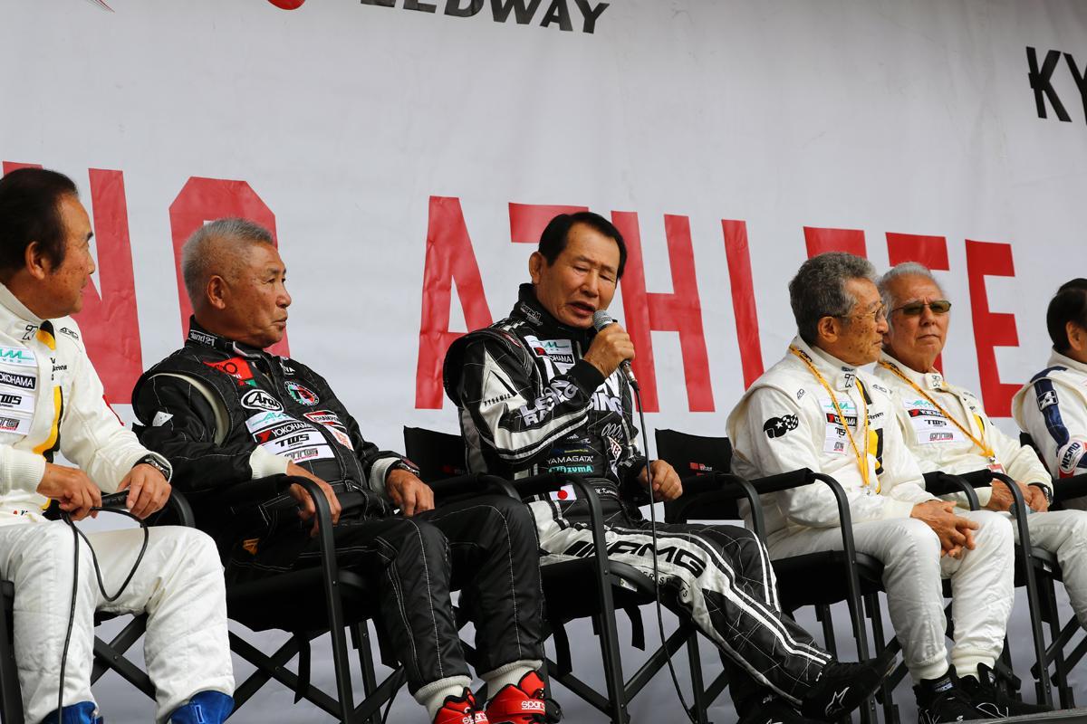 平均年齢70オーバー! 伝説のレーシングドライバーたちのガチレースが今年も開催
