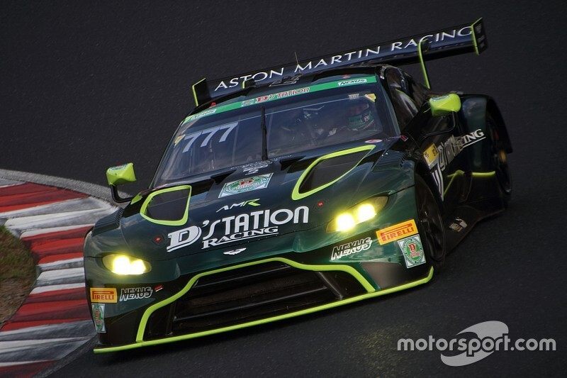 【スーパー耐久】第6戦岡山 予選:777号車D'station Vantage GT3が2戦連続でポールポジションを獲得