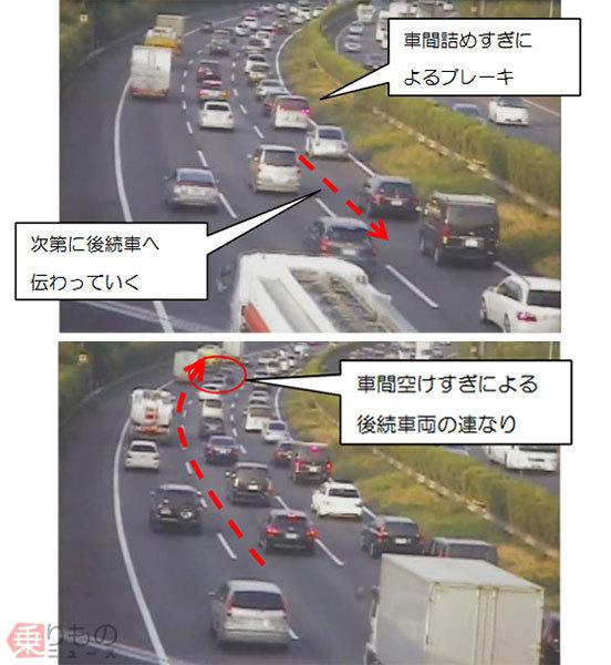 前走車に自動追従の「ACC」高速道路でうまく使うコツ 渋滞時は「車間距離設定」要注意