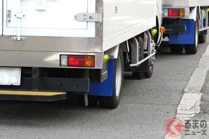 なぜ冬場に脱輪事故が増加? 大型車の9割で「左後輪」が外れる理由