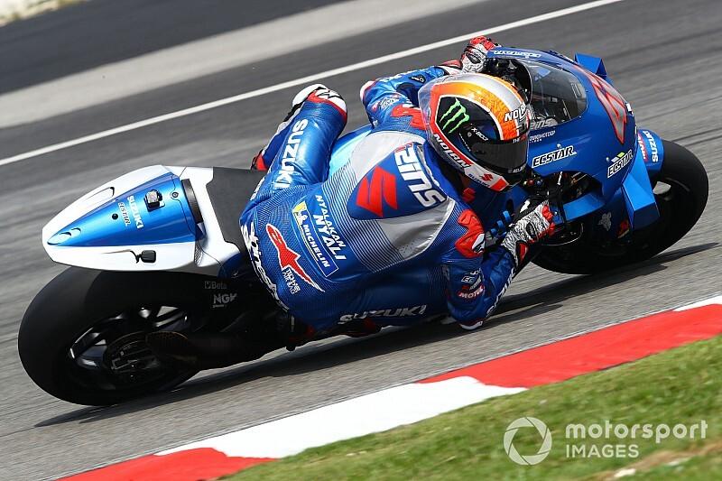 """【MotoGP】スズキの新型は""""望んだ場所""""にたどり着いたか? エースのリンス、ポジティブ評価"""
