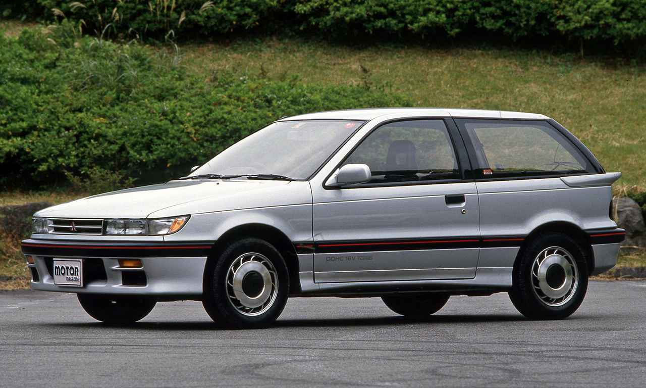 【昭和の名車 180】3代目ミラージュは4つの個性で登場。その頂点が「サイボーグ」だった