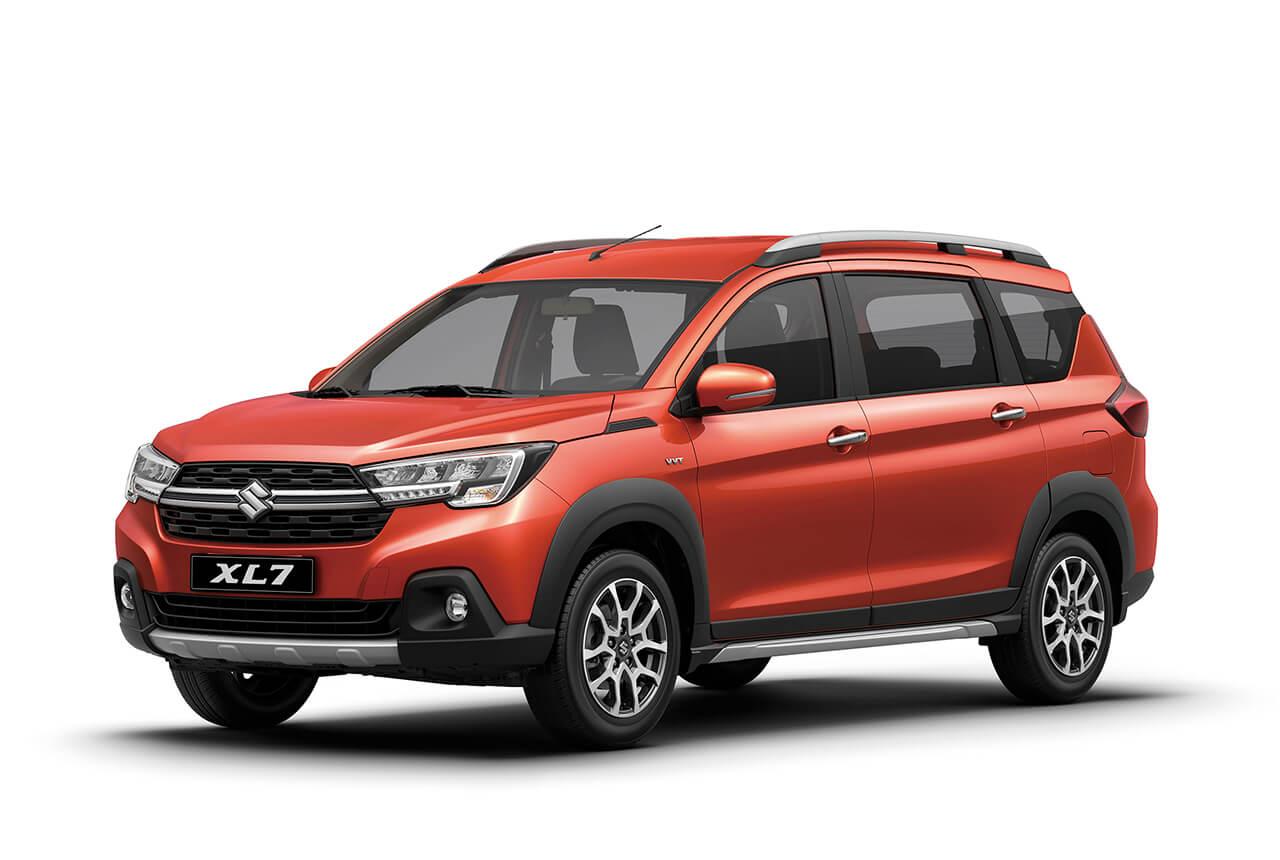 スズキがインドネシアで3列シートの新クロスオーバー「XL7」を発表