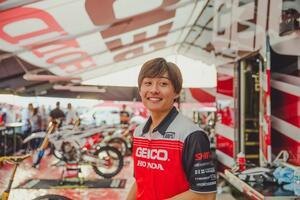 下田丈が語る、スーパークロスデビューを終えて「毎年、チャンピオンを狙っていく」もちろん今年も…