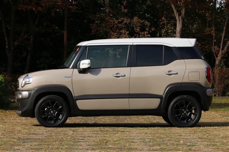 スズキ クロスビーは国民車目線でも単なる道具に納まらない実用小型車