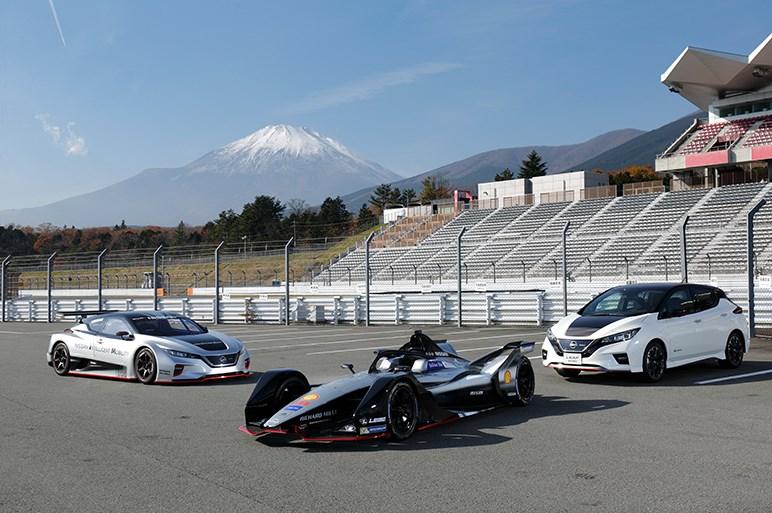 ニスモのEVレーシングカーにちょい乗り。フォーミュラEは将来の日本人起用も視野