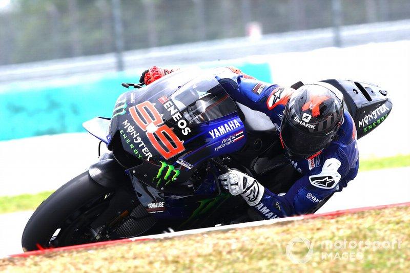 """【MotoGP】ロレンソ、ヤマハの最新型に乗らなかった理由は""""マシン不足""""?"""