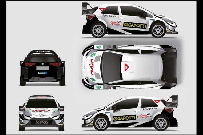 WRC:ラトバラ、第2戦スウェーデンで操るヤリスWRCのカラー公開。「プレッシャーなく挑める」