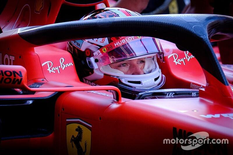 フェラーリF1、2021年導入予定の18インチタイヤで初走行。10月には鈴鹿サーキットでハースがテスト実施へ