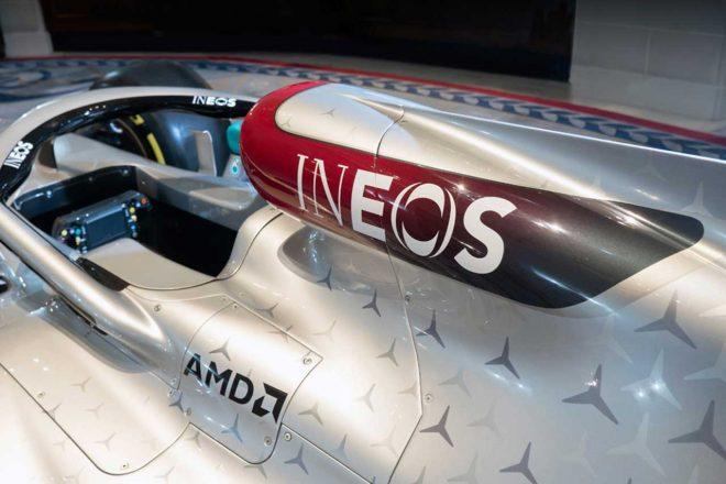 メルセデスF1、新トップスポンサーに英化学大手『イネオス』迎える。「将来的なF1プランでも礎に」
