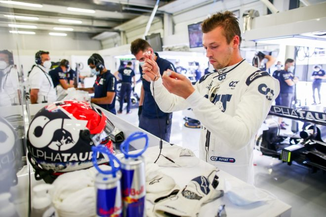 クビアト「ペナルティで後方からのレースになるが入賞を目指す」アルファタウリ・ホンダ【F1第4戦予選】