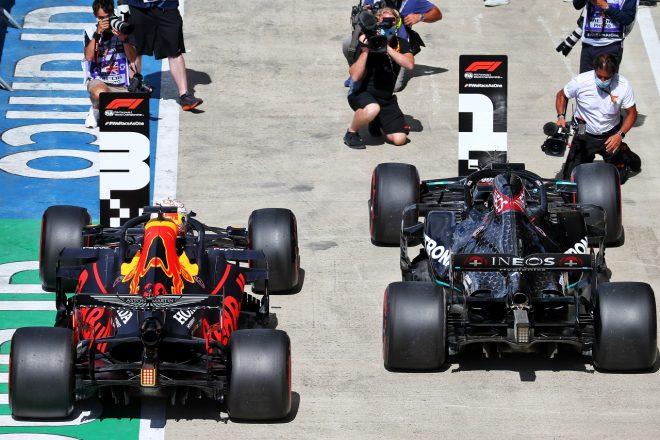 レッドブル代表、2016年以来の好結果も「メルセデスとの大差に悔しい思い」【F1第4戦予選】