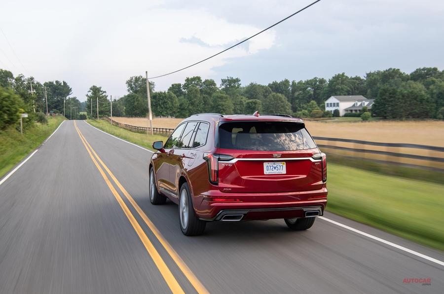 新型SUV登場 キャデラックXT6 AWDスポーツ 3列シート採用 Q7/XC90に対抗