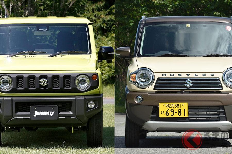 ハスラーとジムニーどっちが良い? スズキの人気軽SUVを「使い勝手」で比較!