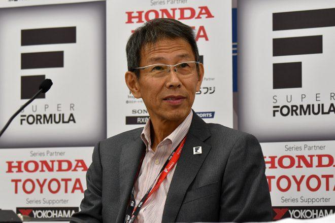 スーパーフォーミュラ:JRP倉下社長がファンへメッセージ「7大会開催へ最大限の努力を」
