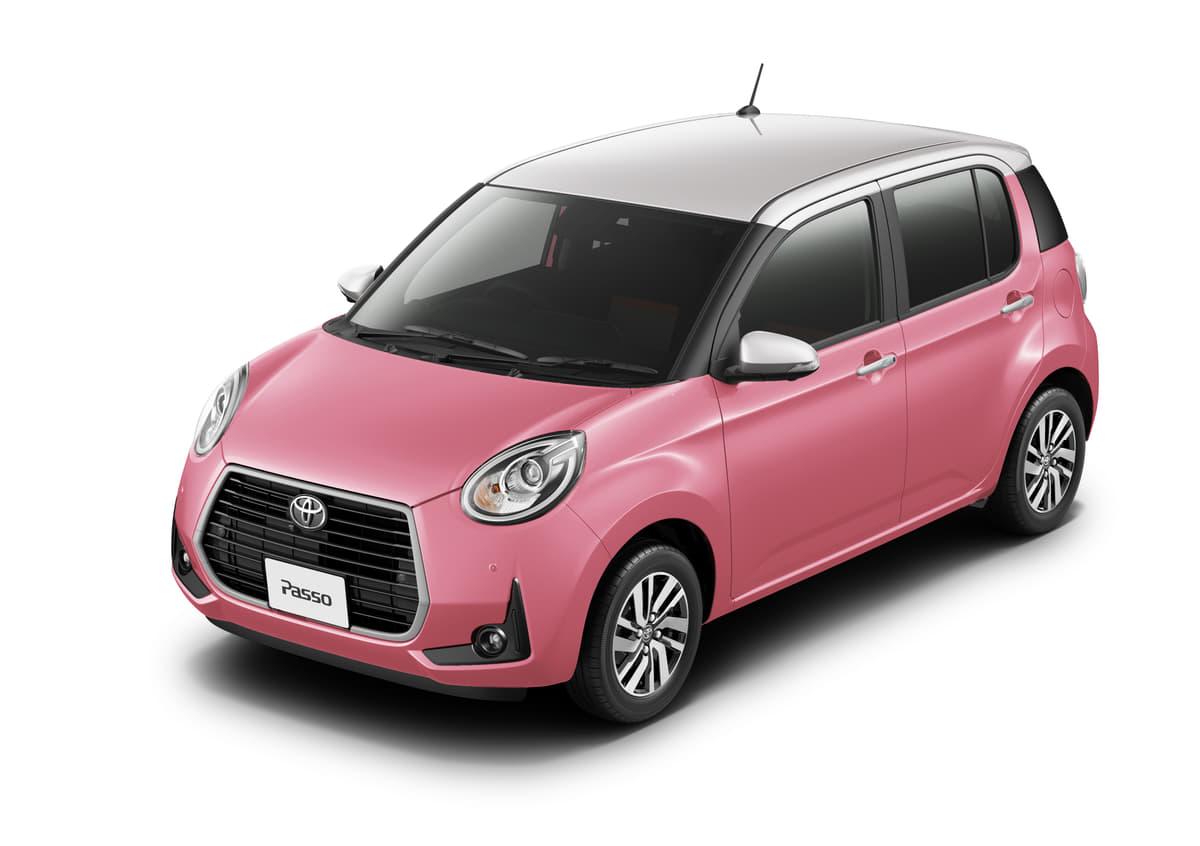 トヨタ、女子力を高めるピンクの「パッソ特別仕様車」を発売