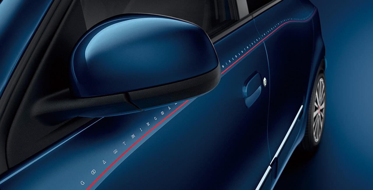 「ルノー・トゥインゴ」に車名のタイポグラフィーをあしらう特別仕様車、「シグネチャー」が登場