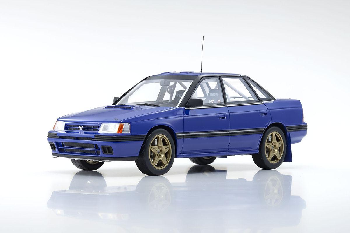 京商特注のWRC参戦スバル・レガシィが18分の1スケールモデルとして世界限定300台で発売!