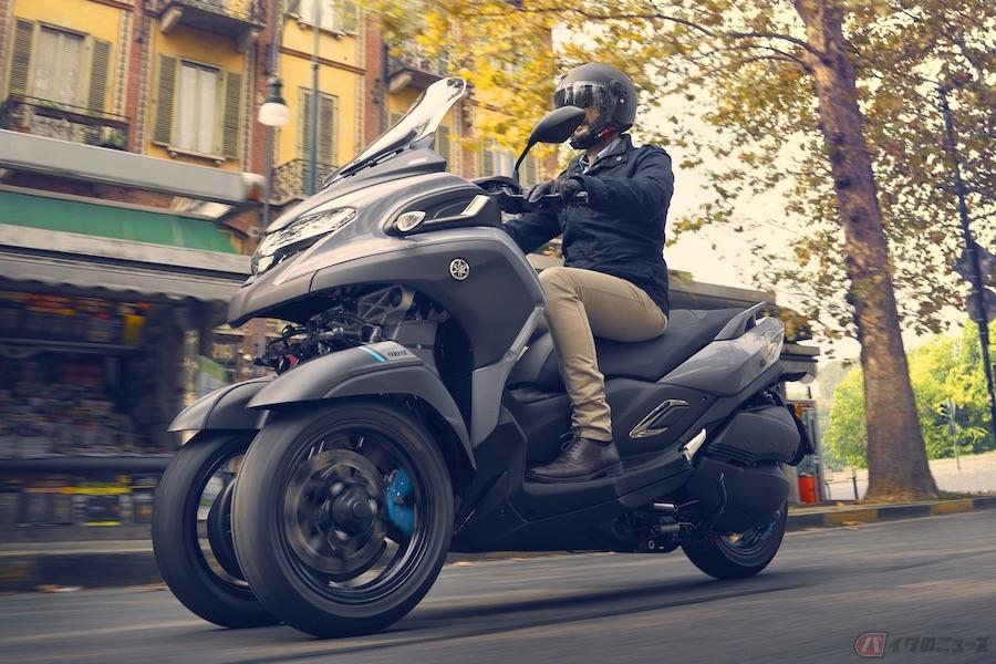 2020年7月に英国で発売されるヤマハ新型「トリシティ300」の価格を発表
