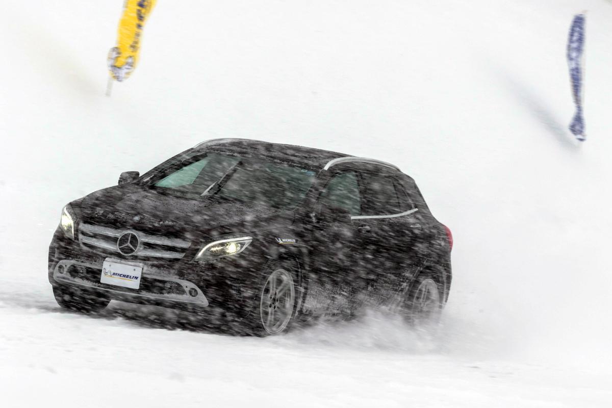 【試乗】ミシュランが新たにリリース! 「雪も走れる夏タイヤ」は本当に雪で走れるのか徹底チェック