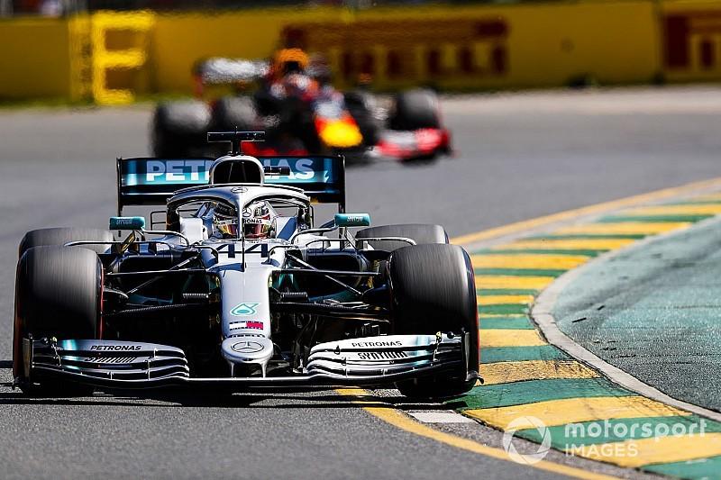 F1オーストラリアFP2:レッドブル・ホンダのフェルスタッペンが3番手タイム! ハミルトンは貫禄の首位