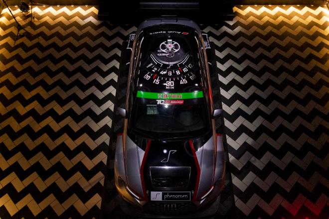 高級時計ブランド『フェノメン』がスーパー耐久に参戦。ST-TCRのAudi Team Marsをスポンサード