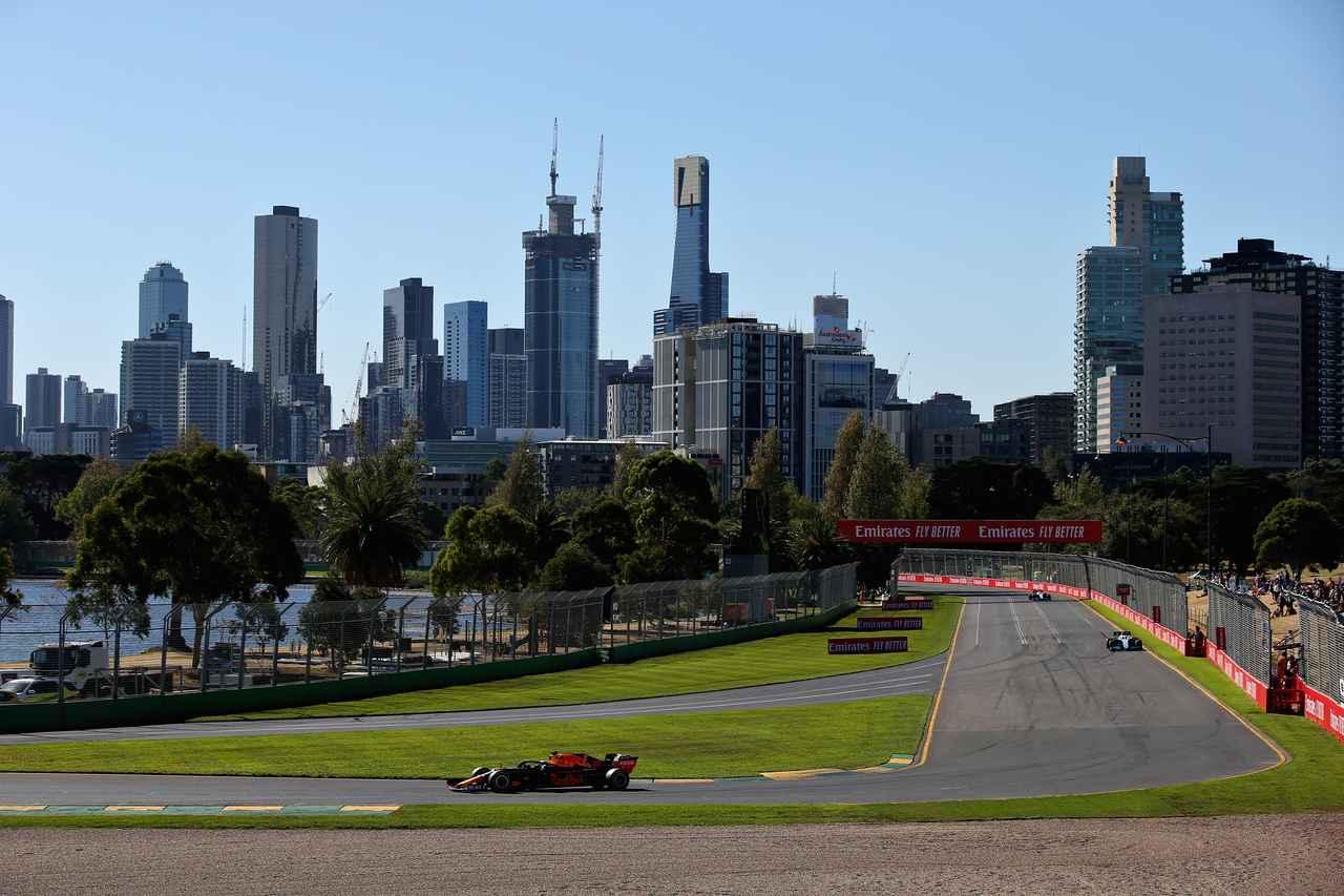 2019年F1開幕戦オーストラリアGPフリー走行2回目、レッドブル・ホンダはメルセデスAMGに迫る3、4番手【モータースポーツ】