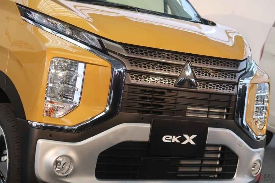 デリカミニ!? 三菱の新型軽はSUV風「eKクロス」 一人勝ちハスラーに挑戦