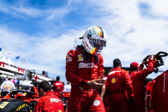 ベッテル、FLを記録しハミルトンのグランドスラムを阻止「今回は敗北。でも勝つことを絶対諦めない」:フェラーリ F1フランスGP