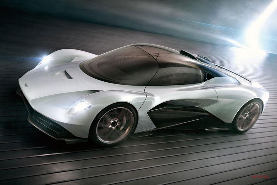 映画007次回作 アストン マーティン新型ハイパーカー「ヴァルハラ」がボンドカーに