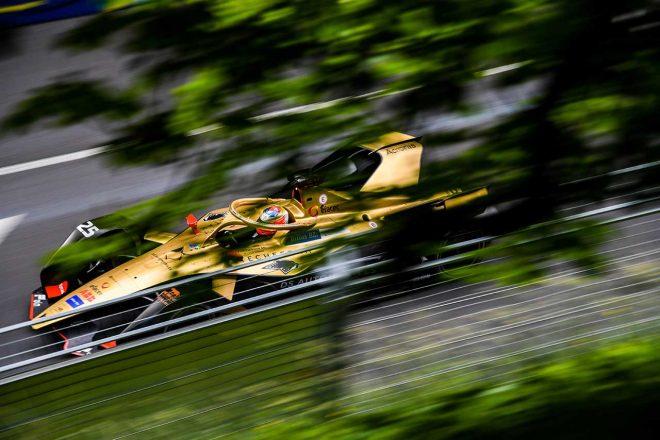 フォーミュラE第11戦:40分超の赤旗挟んだスイス戦でベルニュがシーズン3勝目。ニッサン表彰台