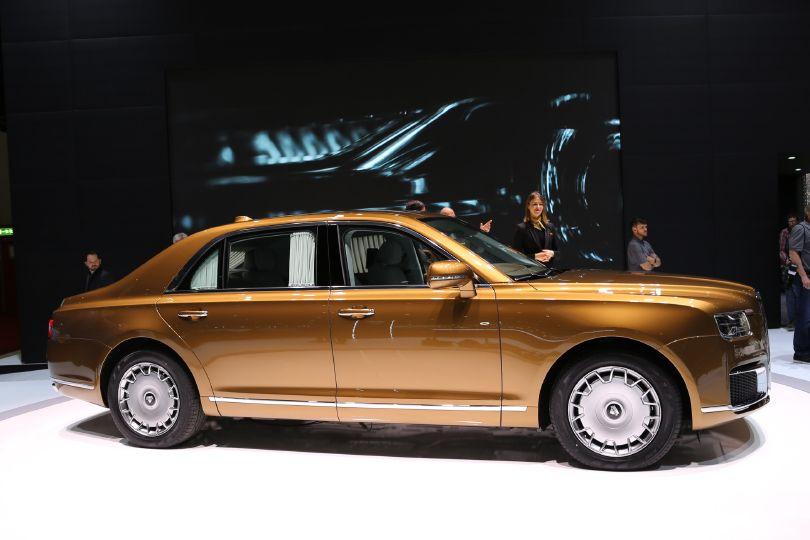 ロシアがロールス・ロイスを作るととこうなる?!──ジュネーブ国際自動車ショー2019リポート【第19弾:独創的なクルマたち(番外編)】
