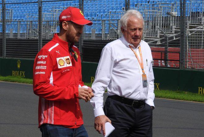 ベッテルと開幕戦コースウォークの翌日にまさか……F1レース運営の要、チャーリー・ホワイティング氏が急死