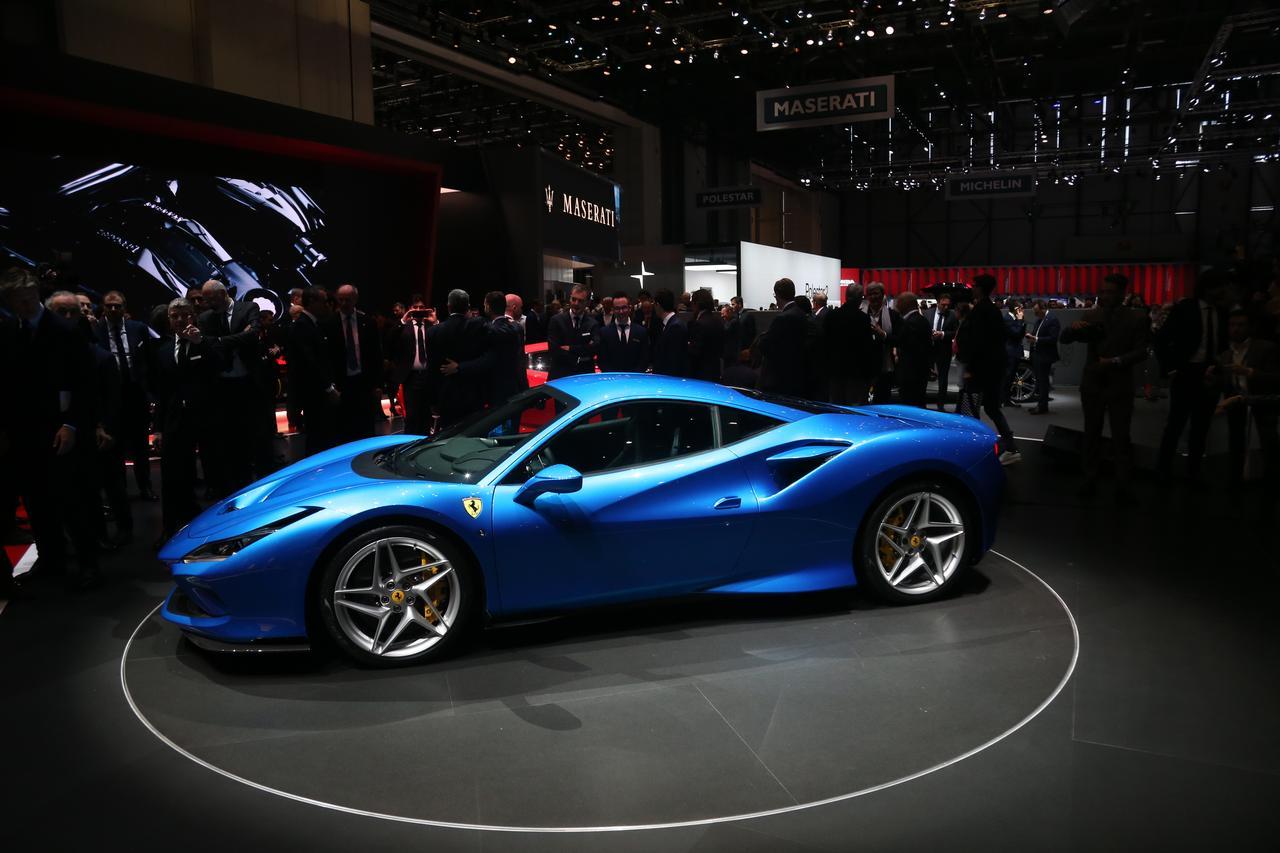 F1の技術がふんだんに盛り込まれた、フェラーリ史上もっともパワフルなV8エンジン