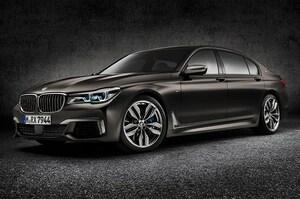 BMW、V12搭載の7シリーズを初披露
