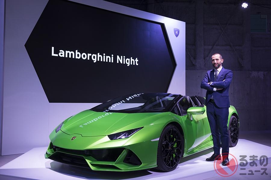 なぜ数千万円するランボルギーニが日本で年間650台も売れるのか? その理由とは