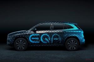 【メルセデスEV第2段】EQAはクロスオーバーに 欧州発売は2020年 EQC/EQBにつづく