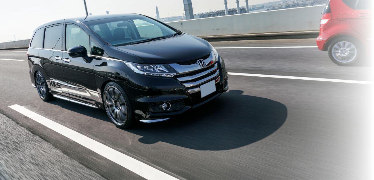 車高調も3年6万キロ保証! 新しくなったHKS S-styleのヒミツに迫る!!  ホンダ・オデッセイで走りもチェック!