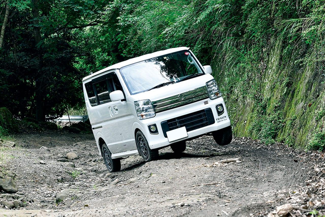 ジムニーじゃないけど、こんな道も走れるんです!|Forest Auto|エブリイ リフトアップ カスタム