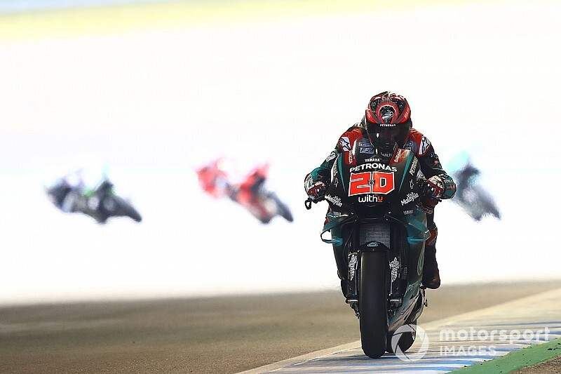 """【MotoGP】日本GPでの""""2位敗戦""""は今後に活きる? クアルタラロ「マルケスからタイヤを労わる術を学んだ」"""