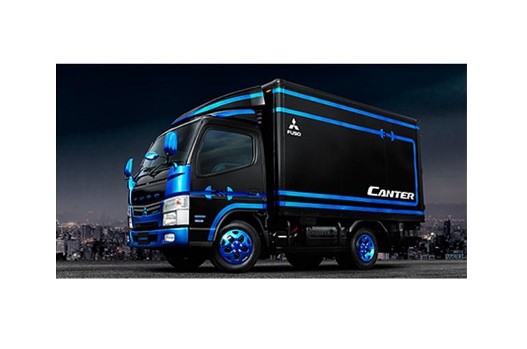 三菱ふそうトラック・バス、「スーパーグレートV スパイダー」などを出展、東京モーターショー