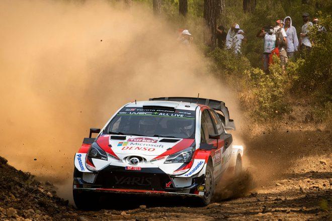 WRC:第11戦トルコのシェイクダウンはトヨタのミークがトップ。「まるで地獄のような路面」