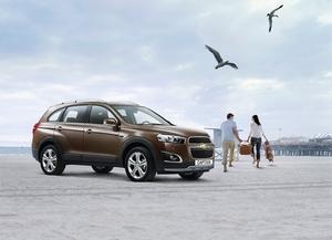 GM シボレー・キャプティバ特別仕様車「ACTIVE LIFE EDITION」