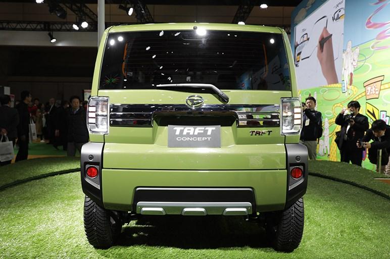 ダイハツが今年発売予定のシカクいSUV・タフトのコンセプトモデルを初公開 - 東京オートサロン