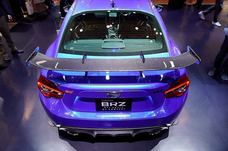 BRZ STI Sport GT コンセプトのモチーフはスーパーGTマシンにあり - 東京オートサロン