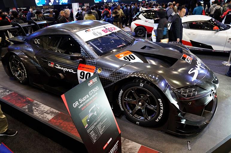 今シーズンからGT500クラスに参戦するGR スープラ GT500もお目見え - 東京オートサロン