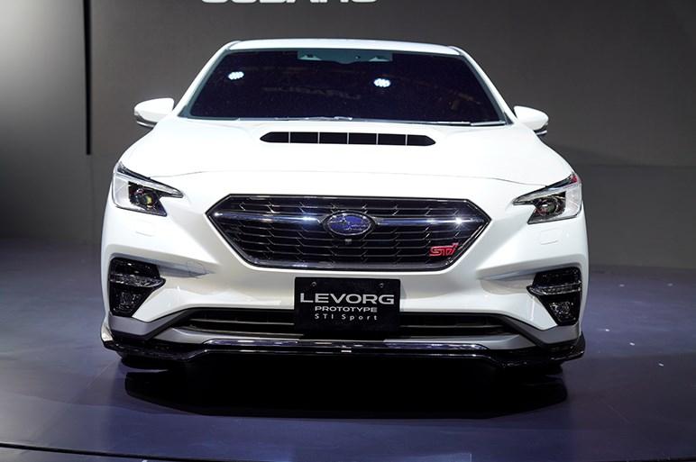 レヴォーグ プロトタイプ STI スポーツ初公開。電制サスも組み合わせたモードセレクト機能を初採用 - 東京オートサロン